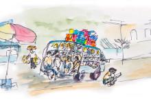 Burmese Bus