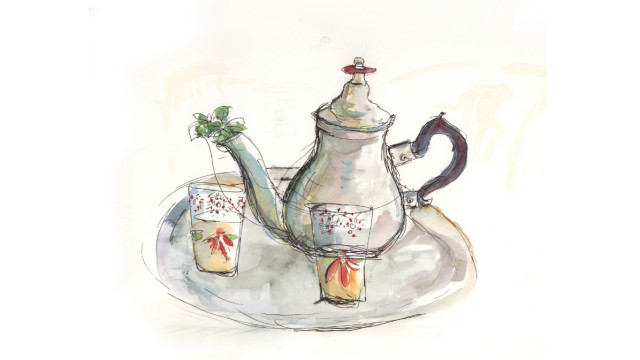 Tea for two, Moroccan style